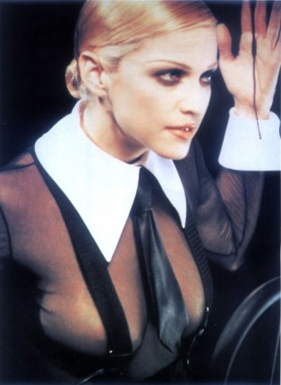 The mannish style of Madonna