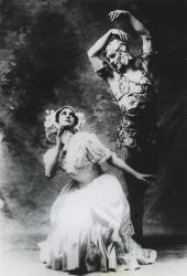 Vaslav Nijinsky in Le spectre de la rose (1911)