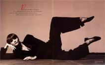 Helena Christensen Vogue Italia, ottobre 1993