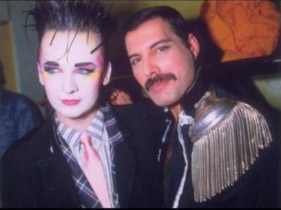 Boy George & Freddie Mercury