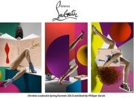 Campagna Louboutin P/E 2012 ispirata da Guy Bourdin