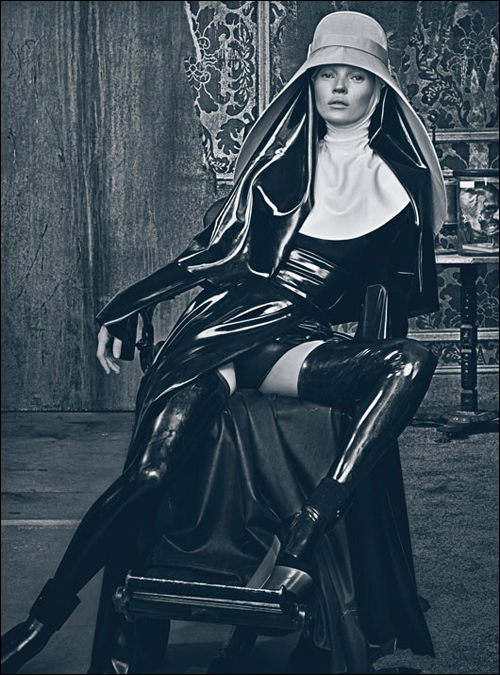 Good Kate, Bad Kate - Kate Moss by Steven Klein for for the March 2012 issue of W Magazine