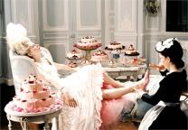Scena di Marie Antoniette di Sofia Coppola