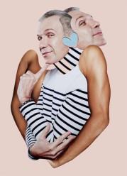 Out Magazine, collage di Damien Blottiere.