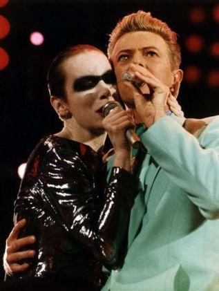 David Bowie & Annie Lennox