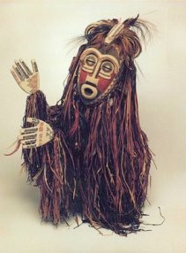The spirit african mask