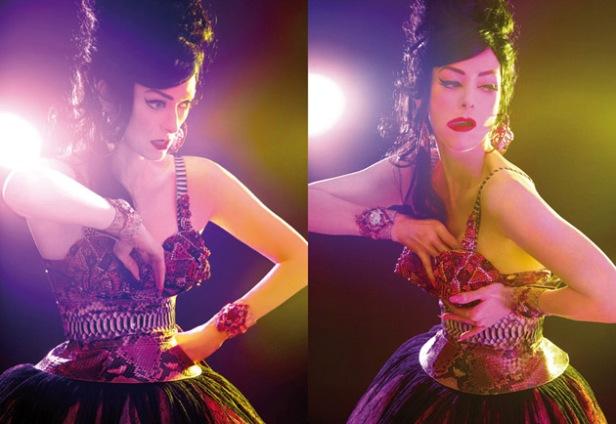 Tilda Swinton su Candy #4
