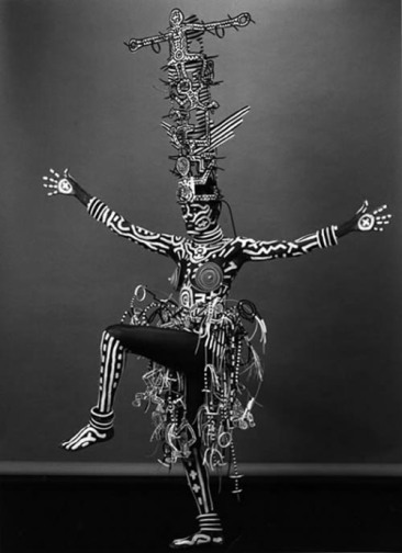 Grace Jones by Keith Haring