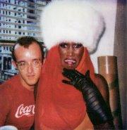 Keith Haring & Grace Jones - Malesoulmakeup
