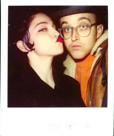 Madonna & Keith Haring