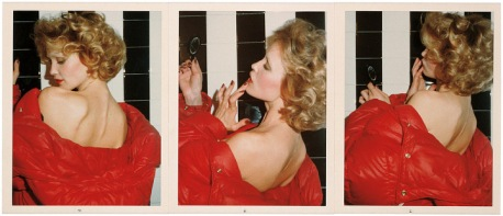 Red Coat Series: Jessica Lange, Parigi, 1974