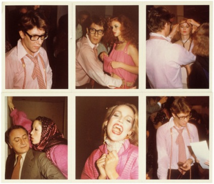 Yves Saint Laurent at work, Parigi,1977