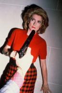 Catherine Denevue by Helmut Newton
