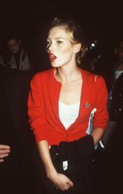 Kate Moss wearing Vivienne Westwood