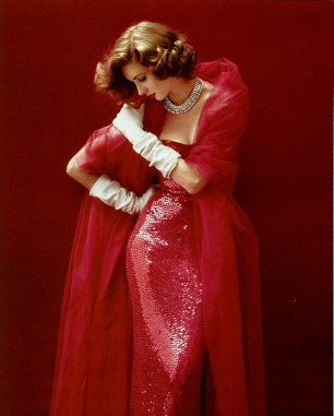 Suzy Parker by Milton Greene, 1952