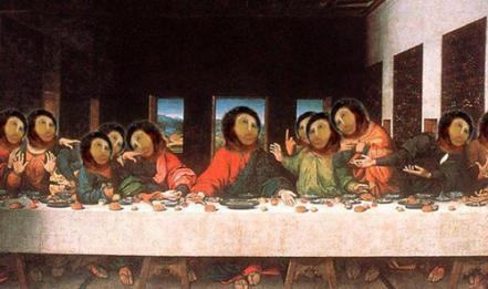 Ecce Homo - L'ultima cena - Leonardo da Vinci