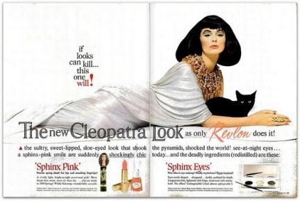 Revlon's Cleopatra Look, 1960′s