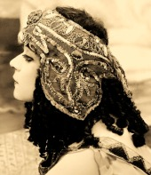 Theda Bara in Cleopatra, 1917