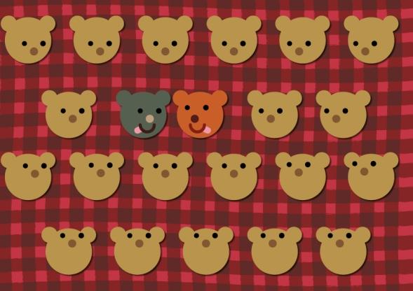 Bear Diversity by Gianluca Manna
