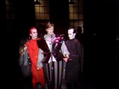 Joey Arias, David Bowie, Klaus Nomi