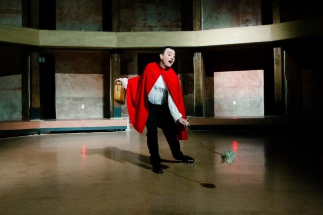Ernesto Tomasini by Francesco Paolo Catalano at Teatro Garibaldi Aperto, Palermo, 2013