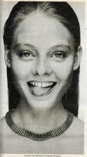 Jodie Foster by Bob Kiss, 1980