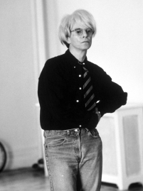David Bowie as Andy Warhol for 'Basquiat' (1996) by Julian Schnabel