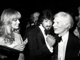 Susan Anton, Sylvestor Stallone, and Andy Warhol @ Studio 54 ,1979