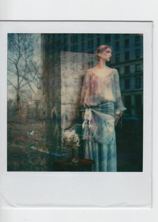 Vitrine sur la 5th Avenue in NY - Polaroid by JeanPierreMaurin