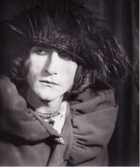 Rrose Sélavy (Marcel Duchamp) by Man Ray , 1921