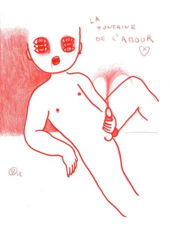 """Luciano Fadini, """"La fontaine dell'amour"""", 2012"""