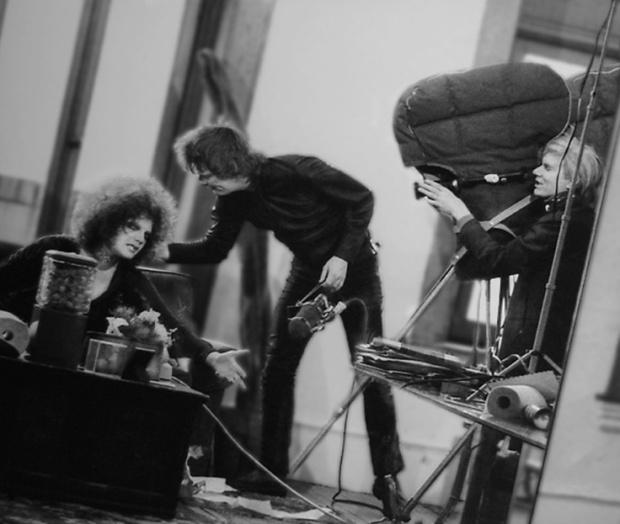 Andy Warhol, Jackie Curtis & Paul Morrissey