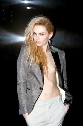 Andrej Pejic by Marcelo Krasilcic for Candy 6