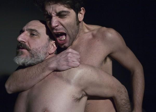"""Pietro Juliano e Antimo Casertano in """"Il senso nascosto"""" di Fortunato Calvino 2014"""
