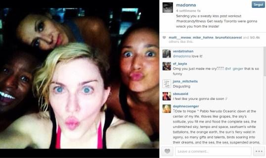 Madonna_Selfie_instagram