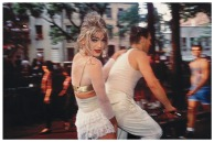 Jimmy Paulette on David's Bike, NYC, 1991 By Nan Goldin San Francisco, Museum of Modern Art .