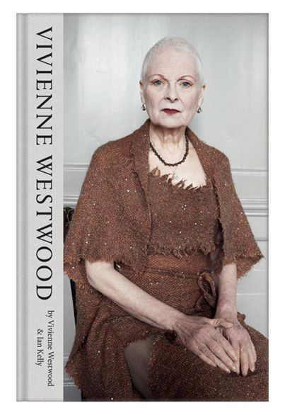 Vivienne Westwood by JuergenTeller for her autobiography on sale in October 2014.