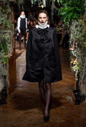 Andreja Pejic for GILES Runway at  LFW15